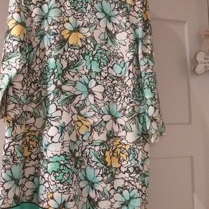 Flower print Dress from the Limited size XL